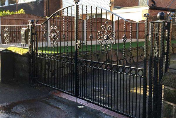 Double Gates 18
